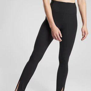 Athleta Aura Split Pants size LT Black